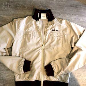 Vintage Cream Adidas Track Jacket